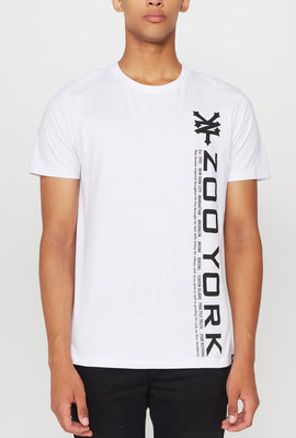 T-Shirt Logo Vertical Zoo York Homme