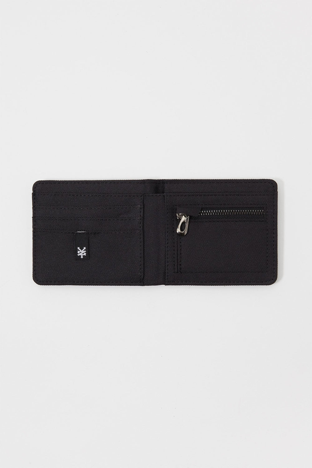 Zoo York Single Fold Canvas Wallet Grey