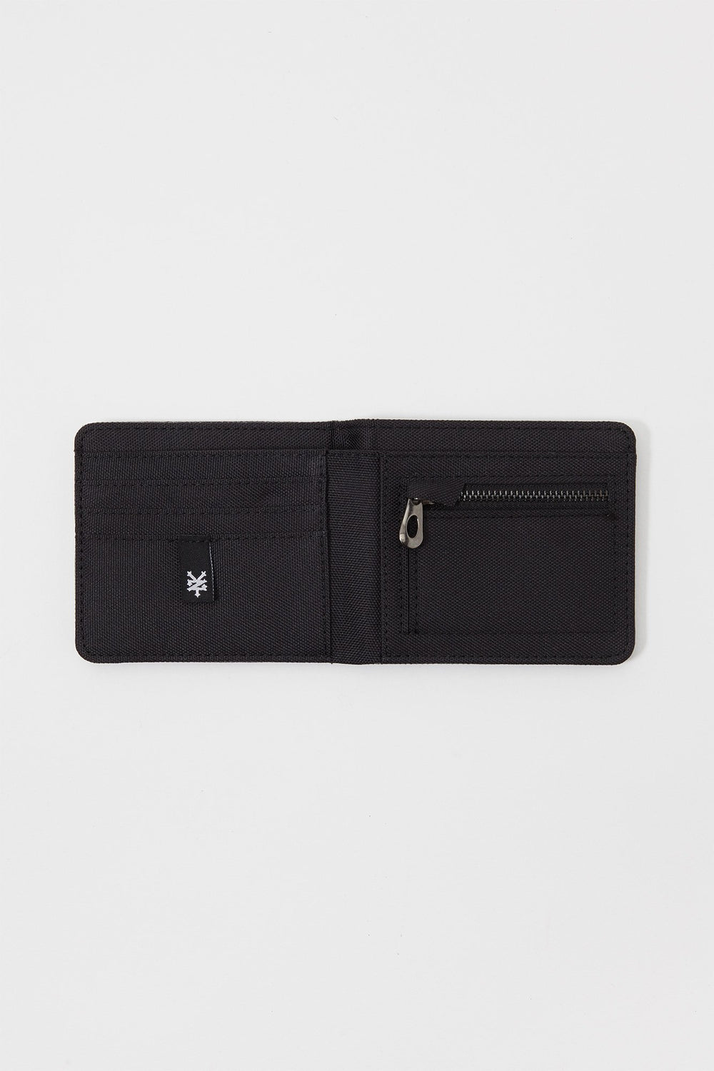 Zoo York Single Fold Canvas Wallet Black