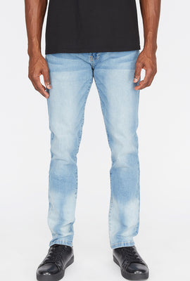 Zoo York Mens Skinny Light Blue Jeans