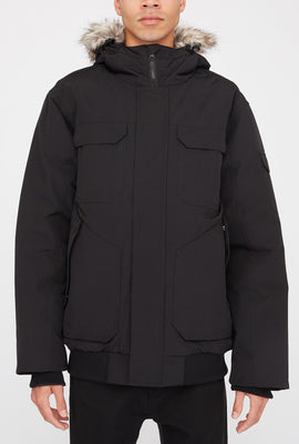 Storm Mountain Mens Arctic Series Utility Bomber Jacket
