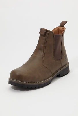 Storm Mountain Mens Pull-On Chelsea Boots