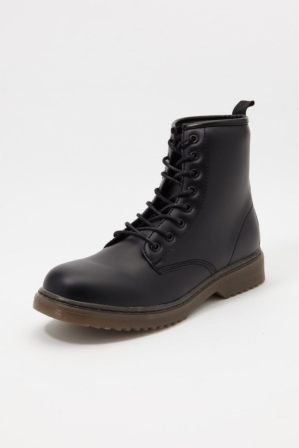 Storm Mountain Mens Casual Lace-Up Boots Black