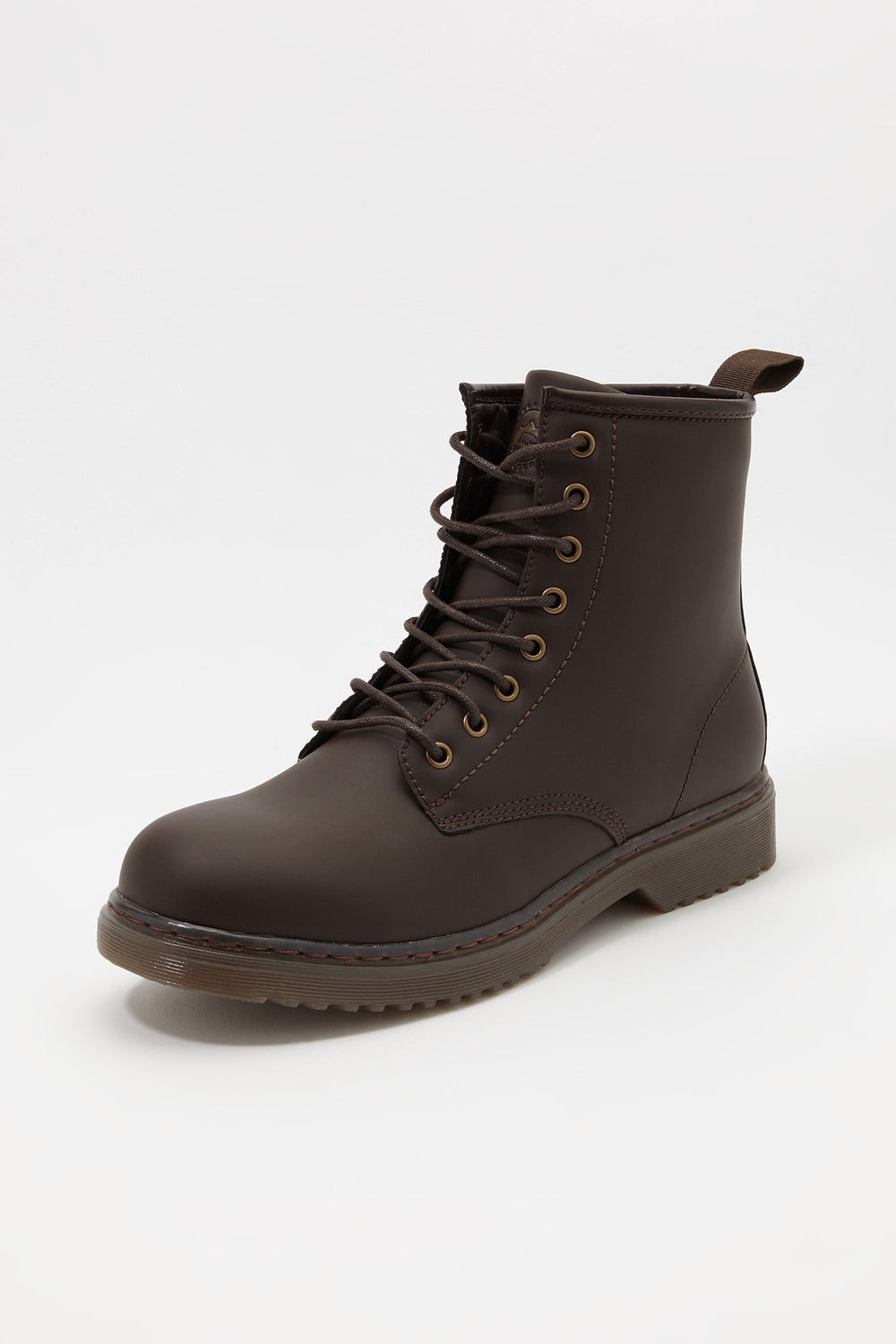 Storm Mountain Mens Casual Lace-Up Boots Dark Brown