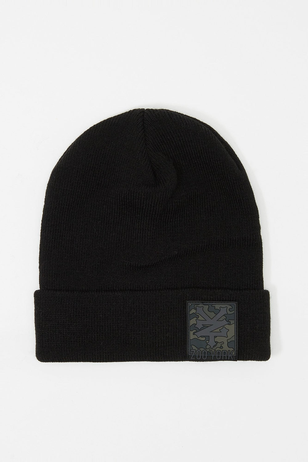 Tuque Logo Camouflage Zoo York Homme Noir