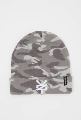 Zoo York Mens Camo Beanie