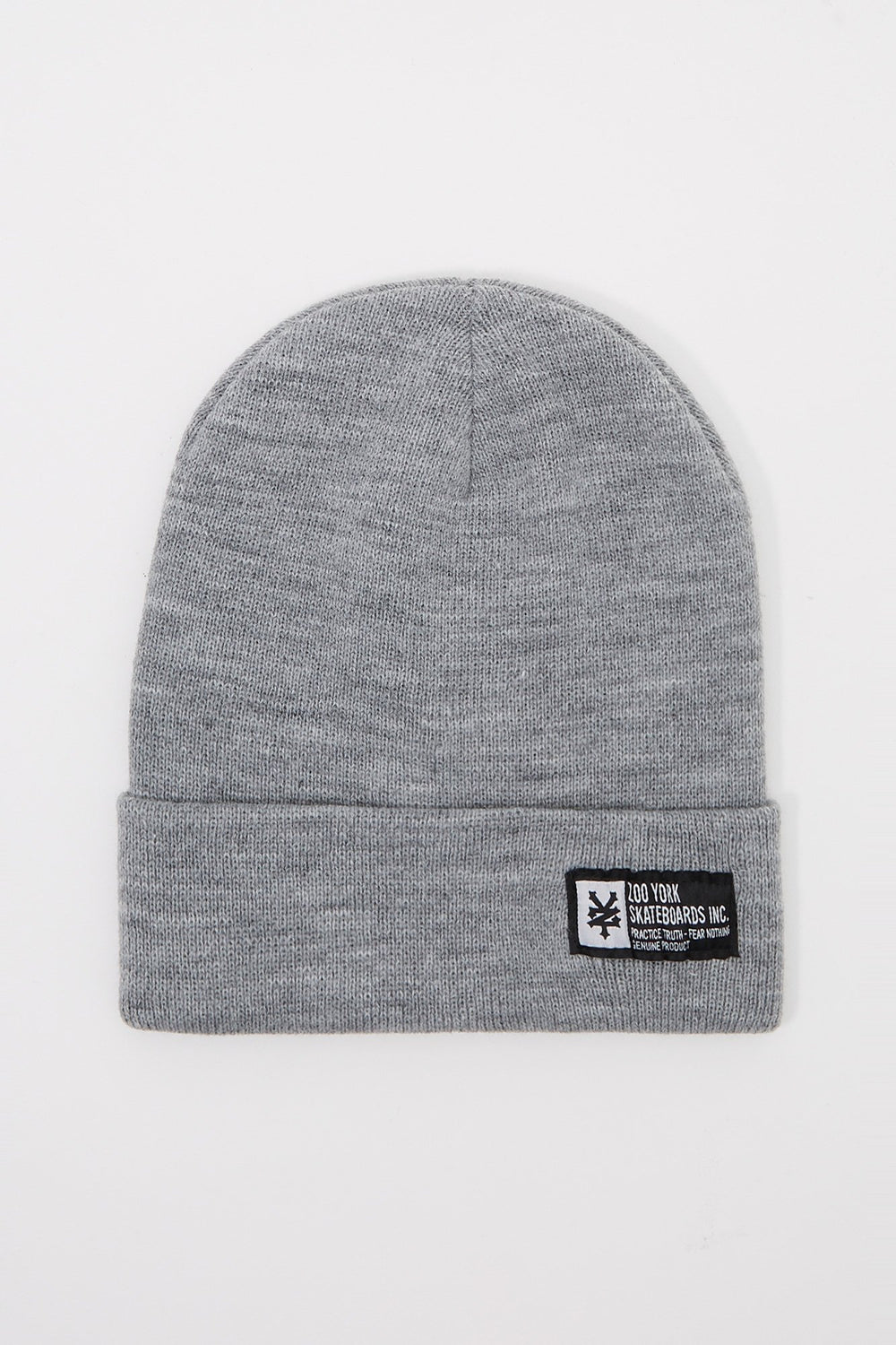 Tuque Couleur Solide Zoo York Homme Gris