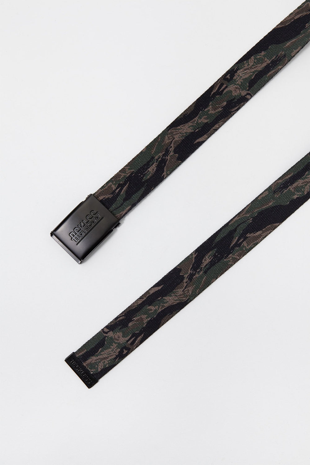 Young & Reckless Mens Tiger Camo Reversible Belt Camouflage