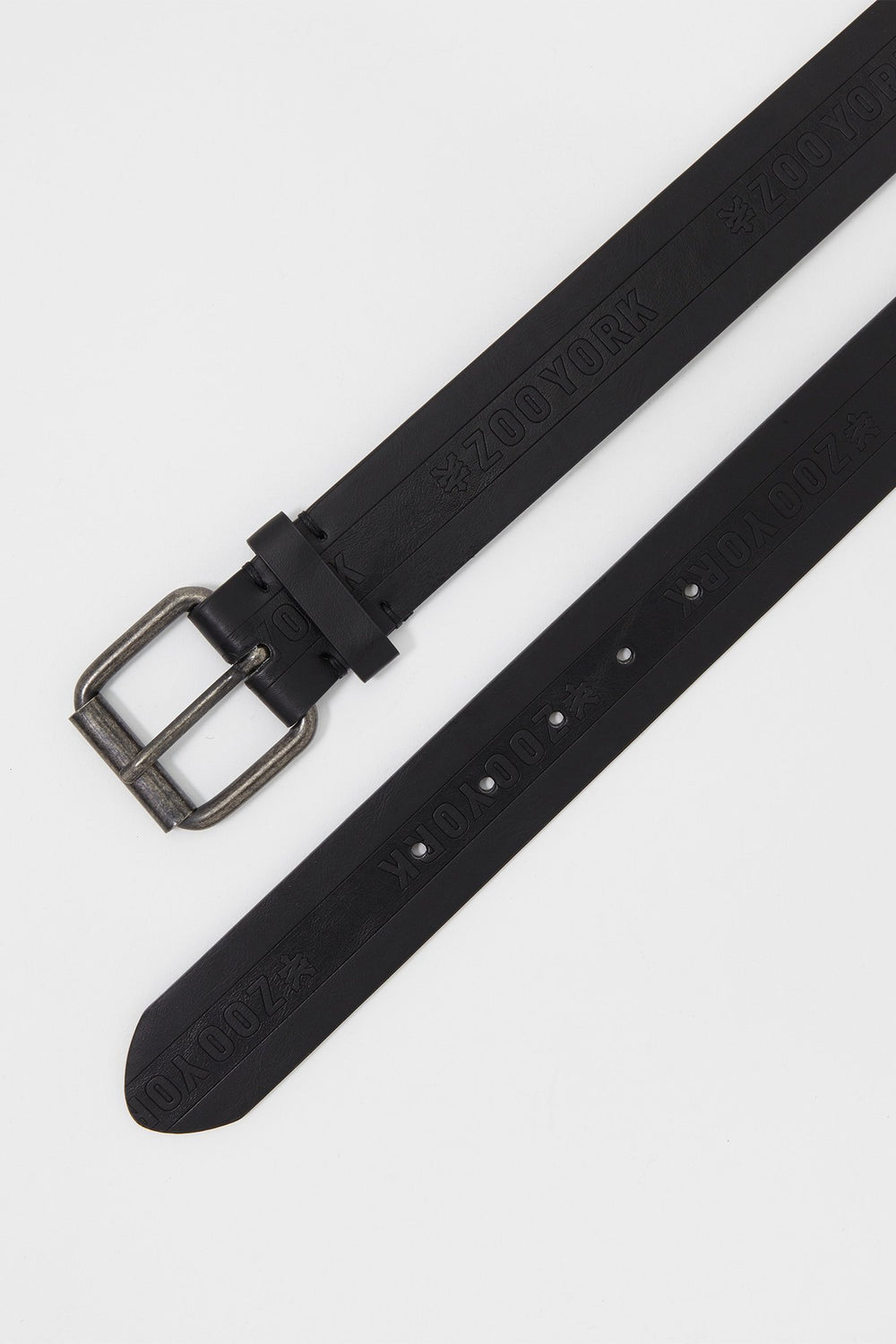 Zoo York Boys Debossed Logo Belt Black