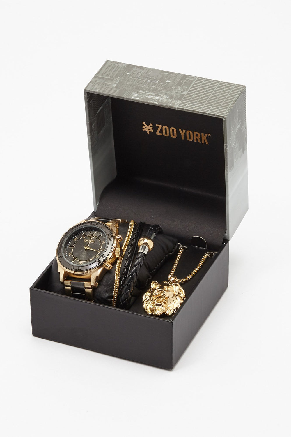 Zoo York Mens Gold Tone Watch Gold