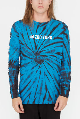 Zoo York Mens Tie-Dye Long Sleeve