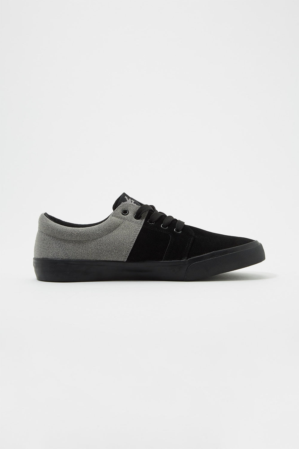Zoo York Boys All Black Stack Lace-Up Canvas Shoes Zoo York Boys All Black Stack Lace-Up Canvas Shoes