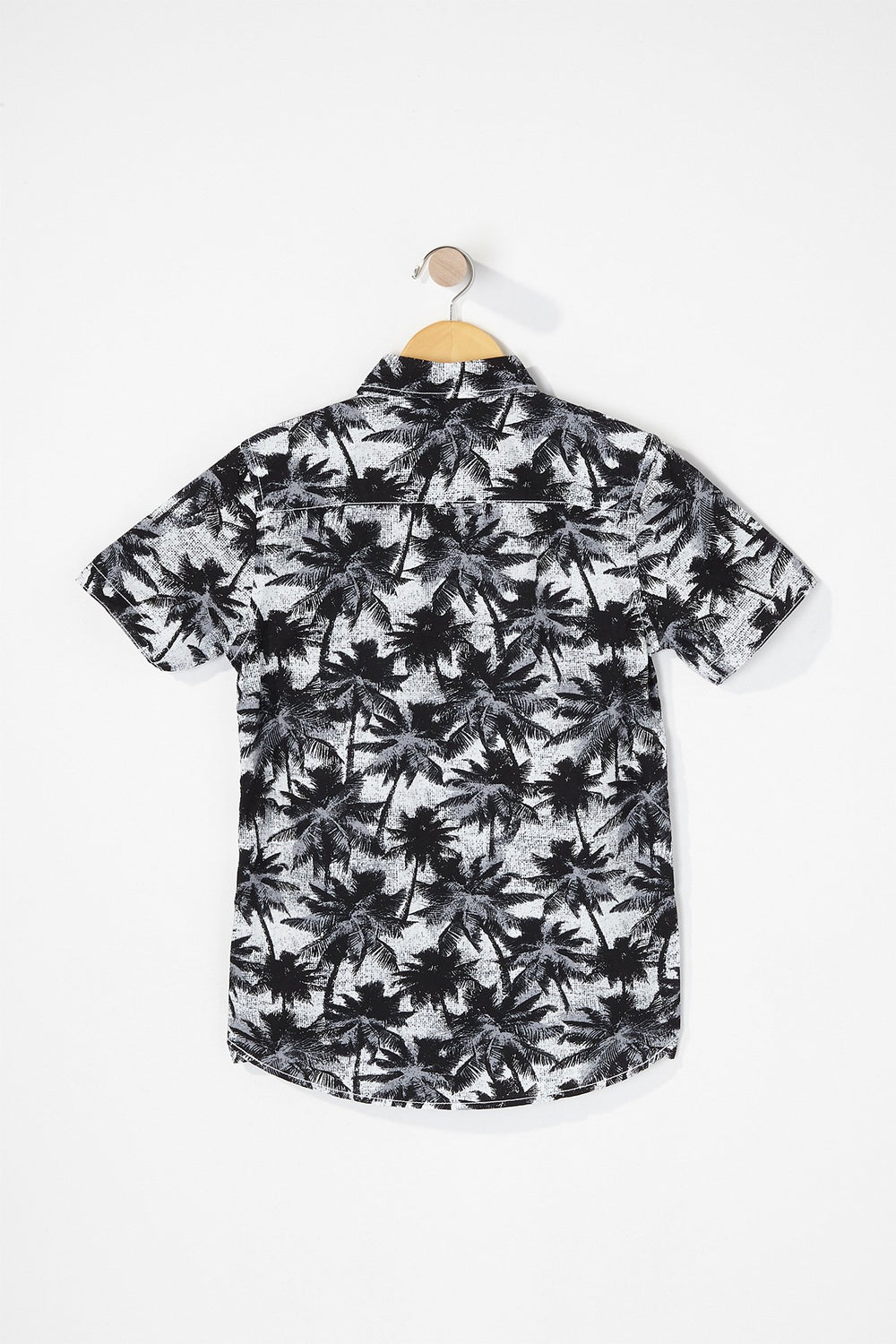 West49 Boys Graphic Button-Up Shirt Black