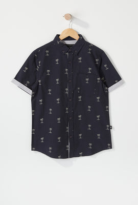 West49 Boys Ditsy Print Button-Up