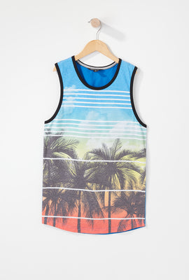 Boys Sunset Tank Top