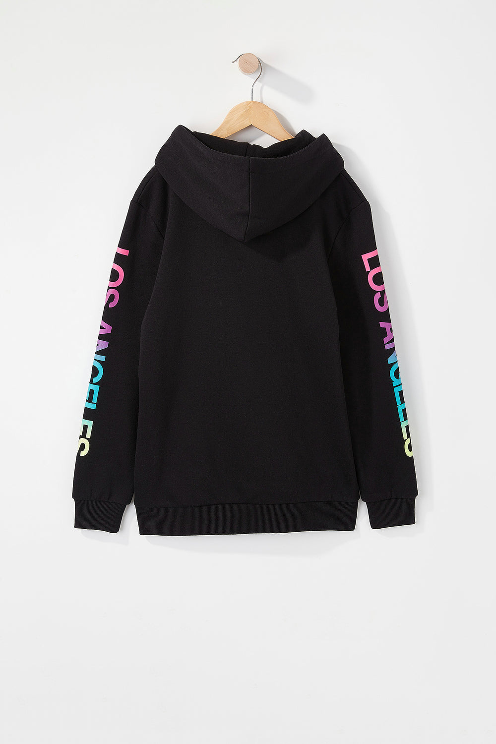 Young & Reckless Boys Gradient Logo Hoodie Black