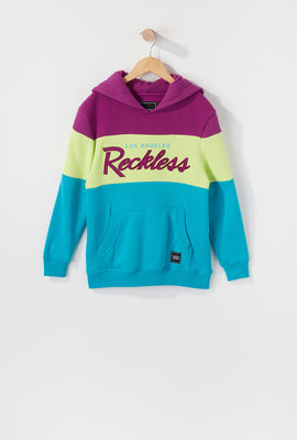 Young & Reckless Boys Colour Block Hoodie