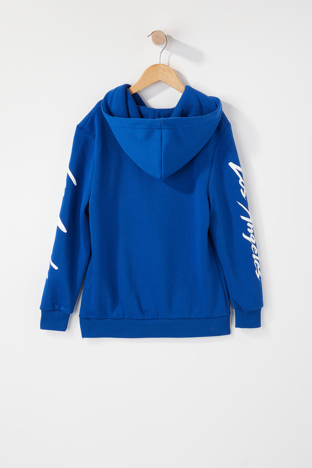 Young & Reckless Boys 90s Style Logo Hoodie Blue