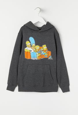 Youth Simpsons Family Pullover Hoodie
