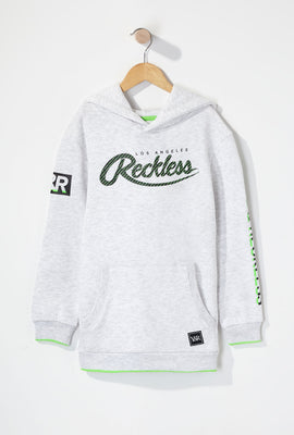 Young & Reckless Boys Neon Accented Hoodie