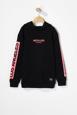 Young & Reckless Boys Neon Logo Popover Hoodie