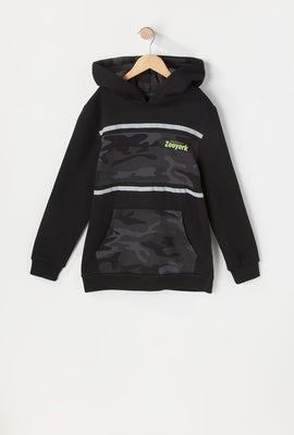 Zoo York Youth Camo Panel Hoodie