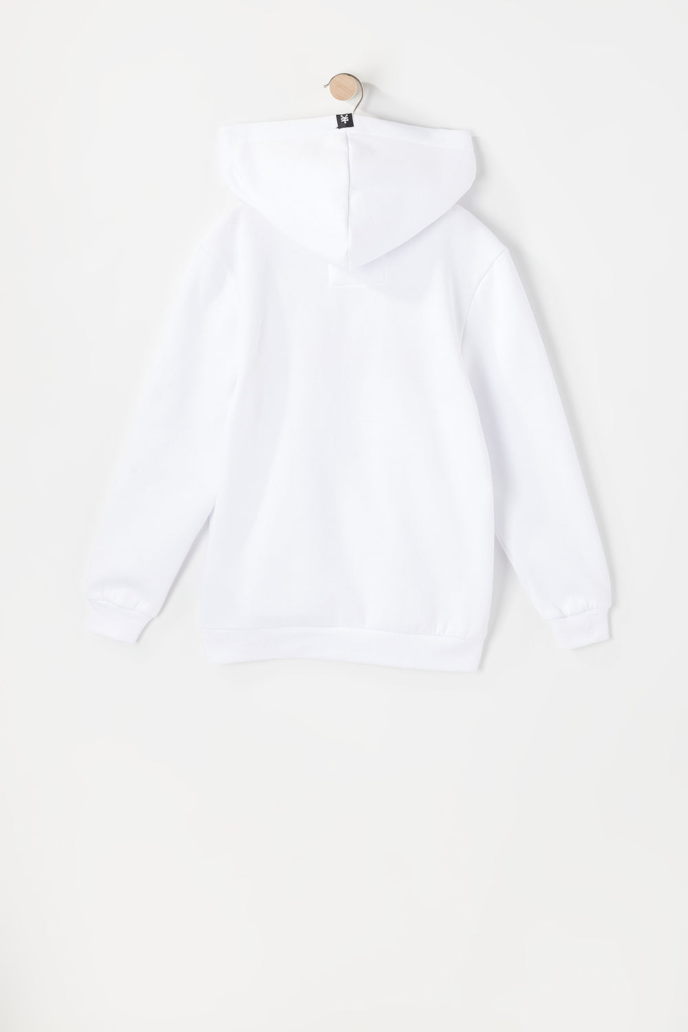 Zoo York Youth Rainbow Logo Hoodie White
