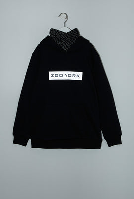 Zoo York Youth Reflective Logo Snoodie