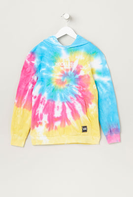 Haut À Capuchon Tie-Dye Young & Reckless Junior