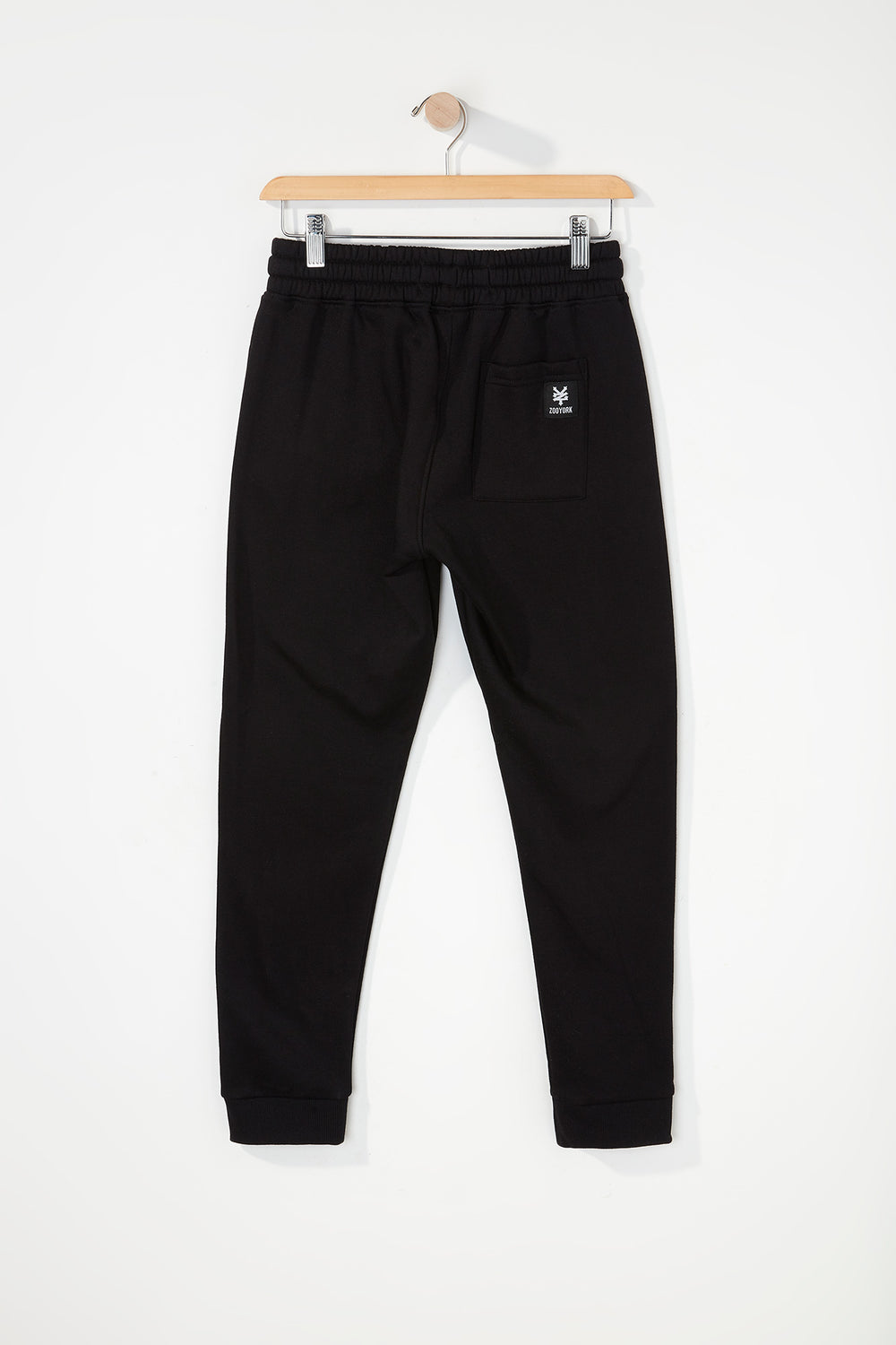 Zoo York Boys Embroidered Logo Jogger Black