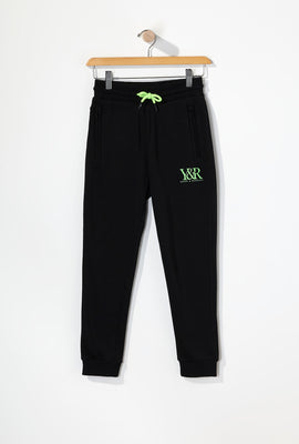 Young & Reckless Boys Neon Accent Joggers