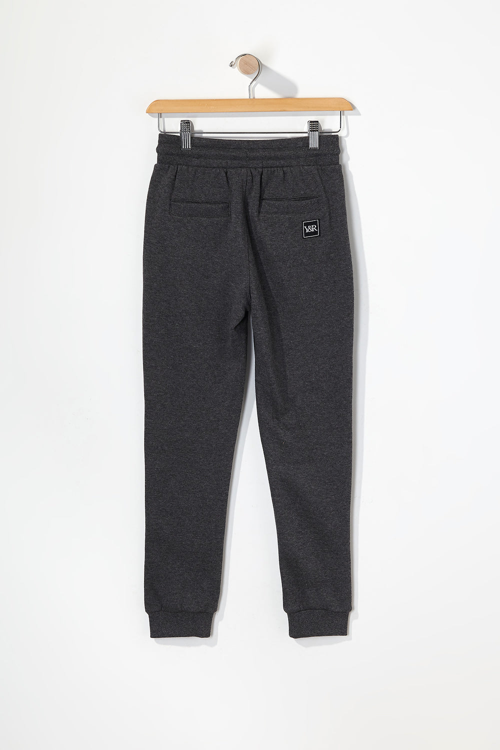 Young & Reckless Boys Neon Accent Joggers Charcoal
