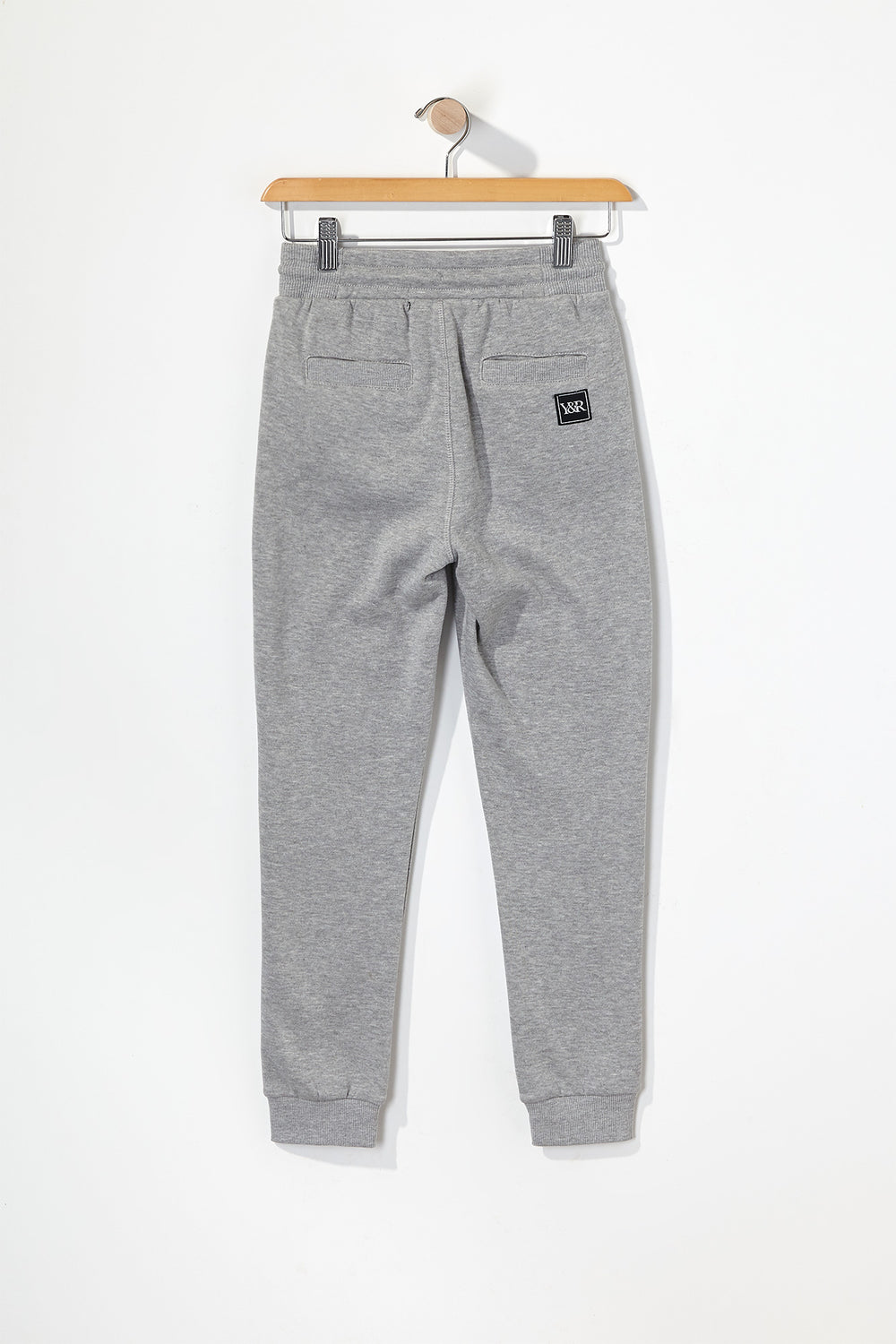 Young & Reckless Boys Neon Accent Joggers Heather Grey
