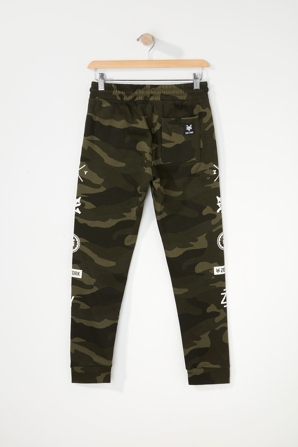 Joggers Camouflage Zoo York Junior Camoufle