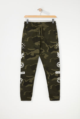 Zoo York Boys Camo Jogger