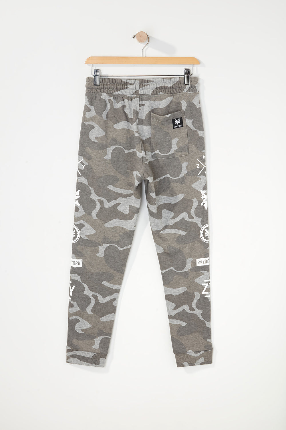 Joggers Camouflage Zoo York Junior Carreaux