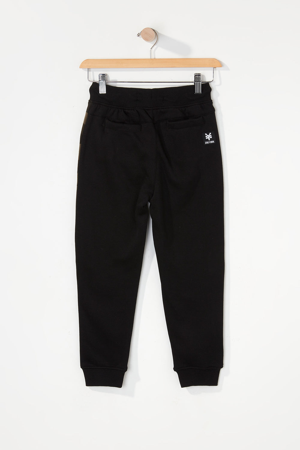Zoo York Boys Camo Colour Block Jogger Black