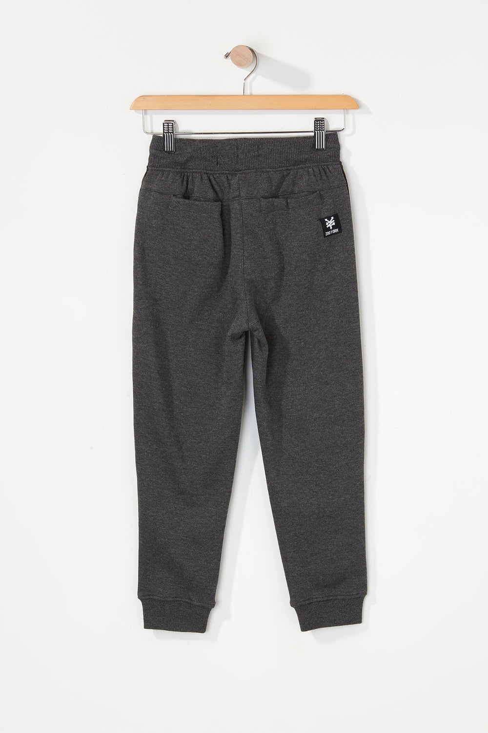 Zoo York Boys Camo Colour Block Jogger Charcoal