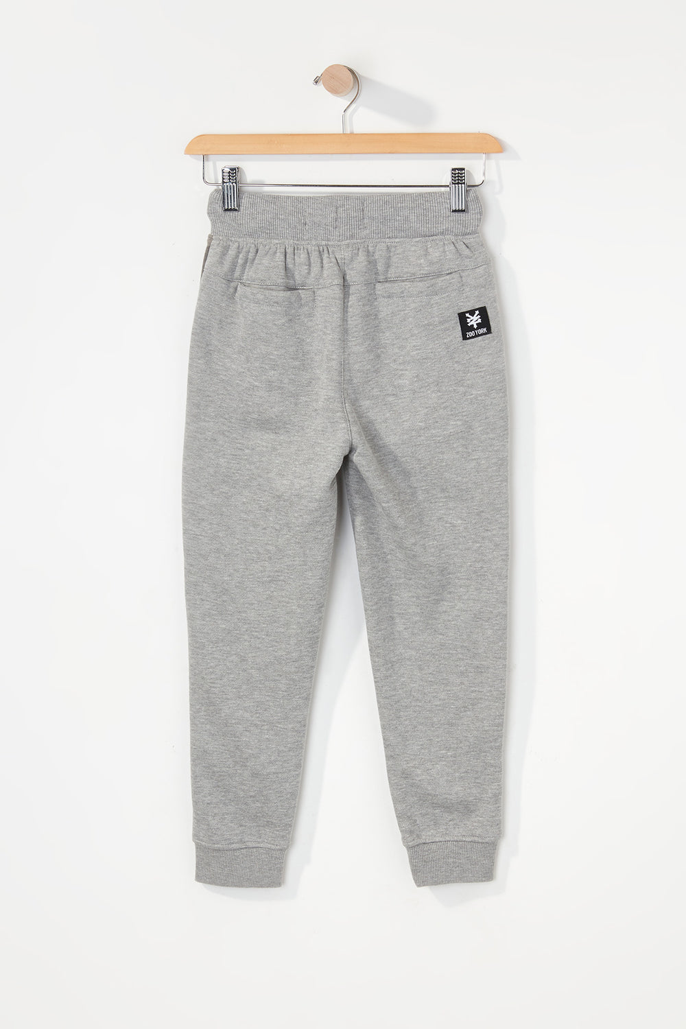 Zoo York Boys Camo Colour Block Jogger Heather Grey