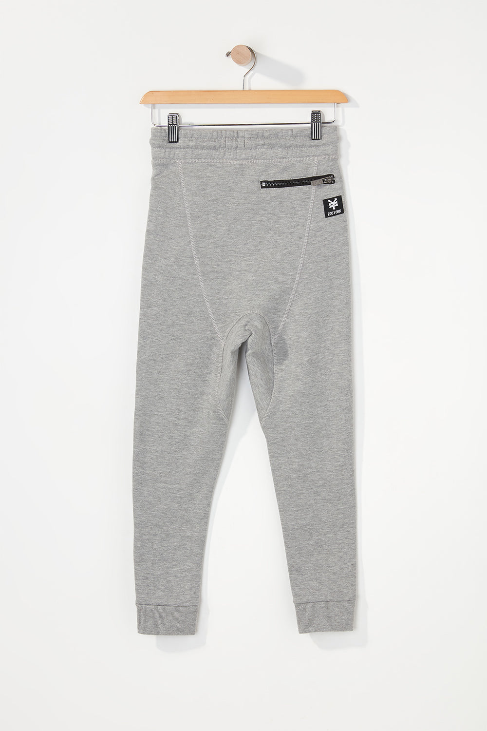 Zoo York Boys 3-Pocket Joggers Heather Grey