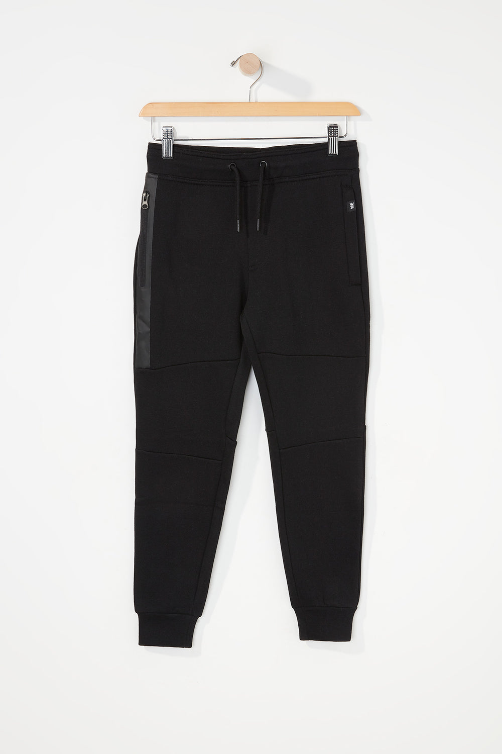 West49 Boys Zip Jogger Black