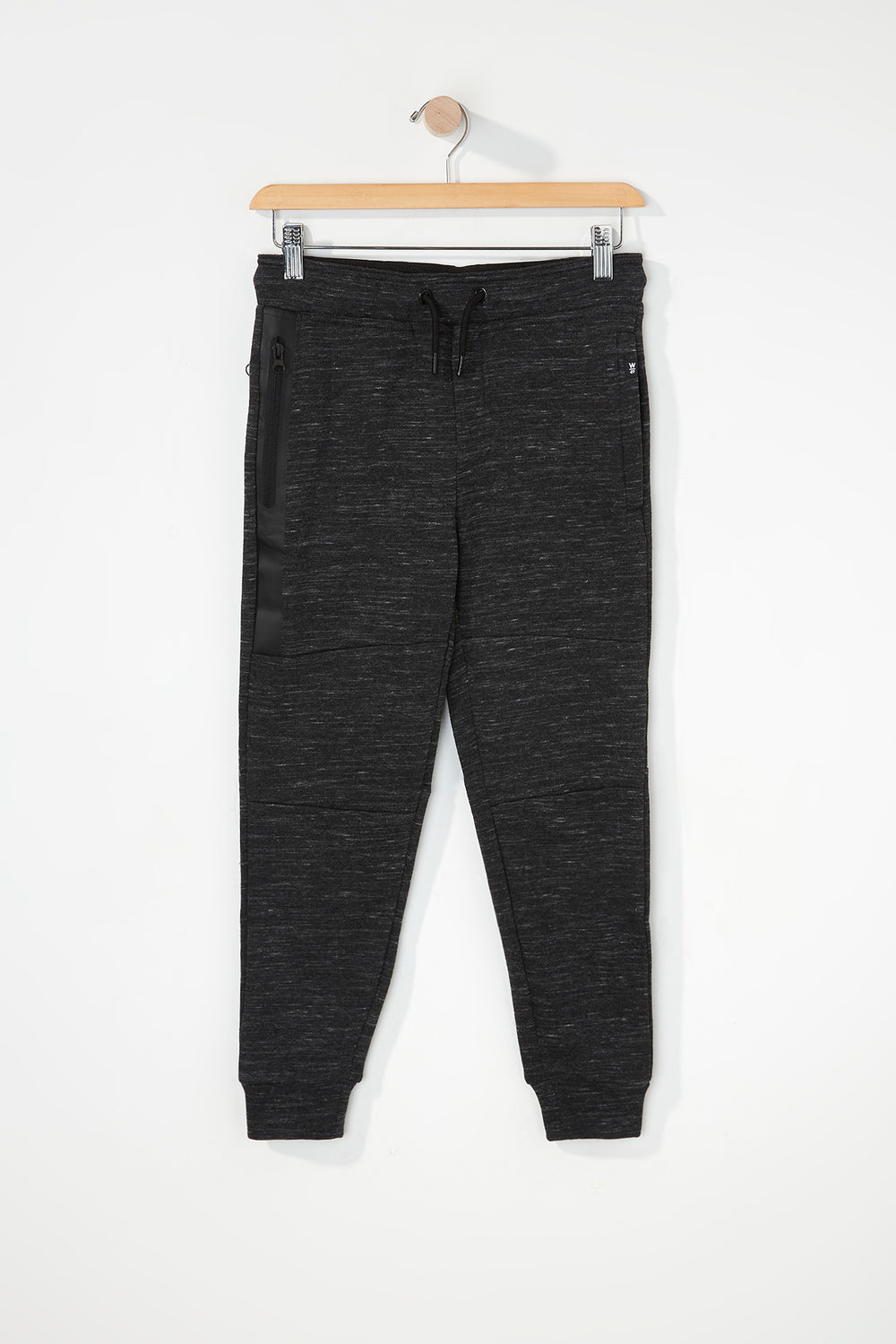 West49 Boys Zip Jogger Charcoal