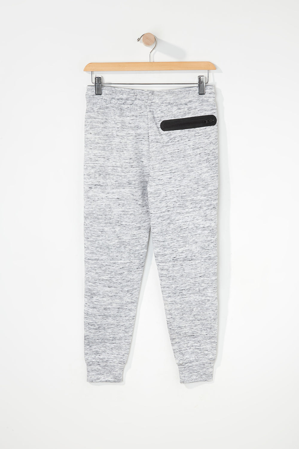 West49 Boys Zip Jogger Heather Grey