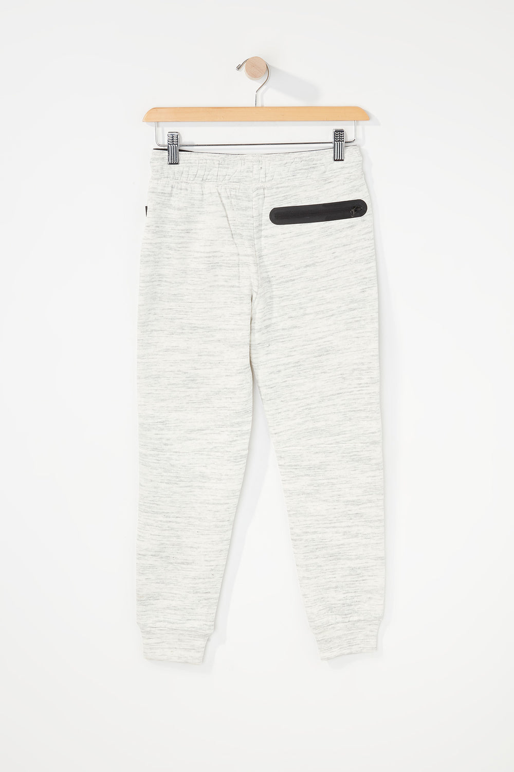 West49 Boys Zip Jogger Oatmeal