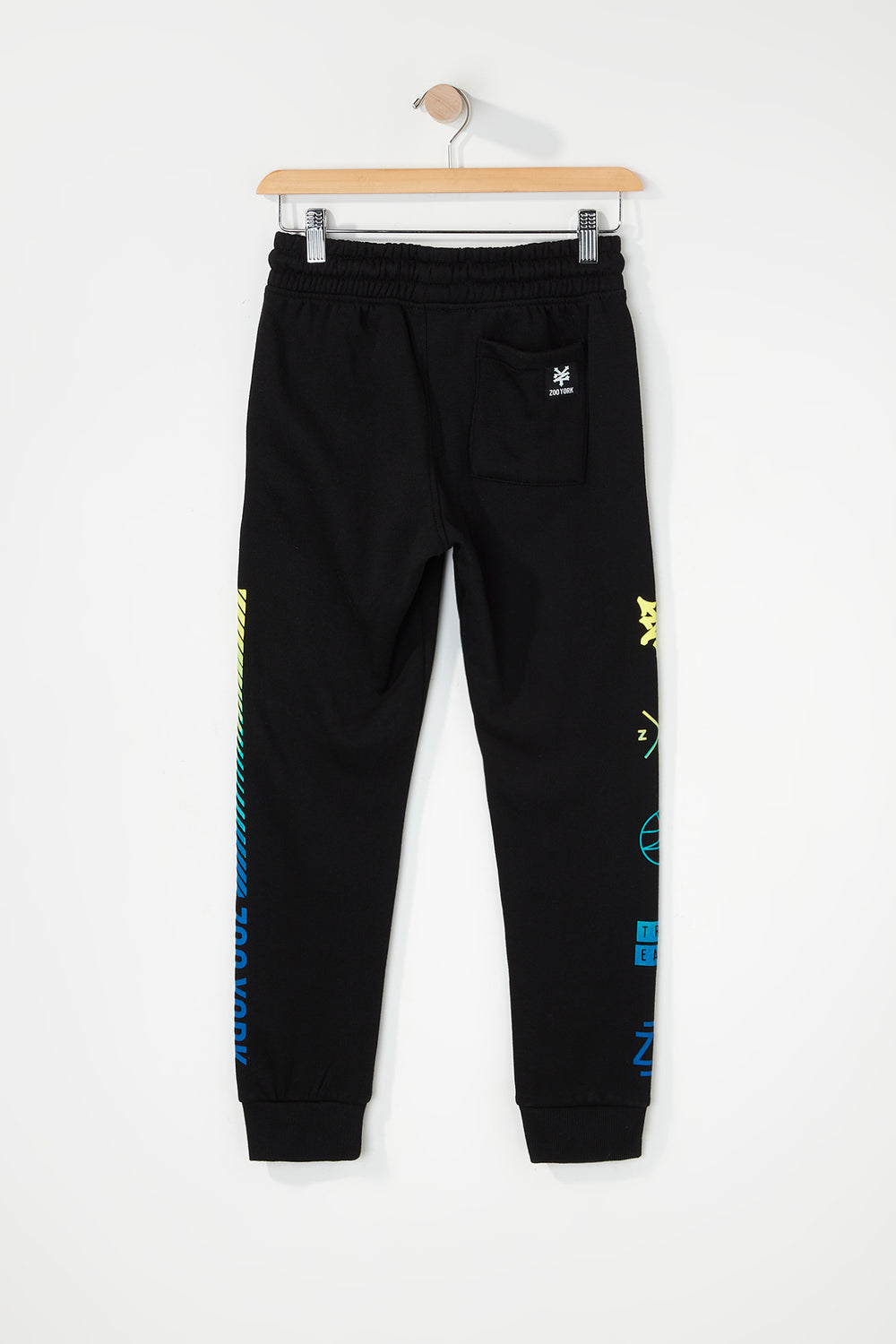Zoo York Boys Gradient Logo Jogger Black