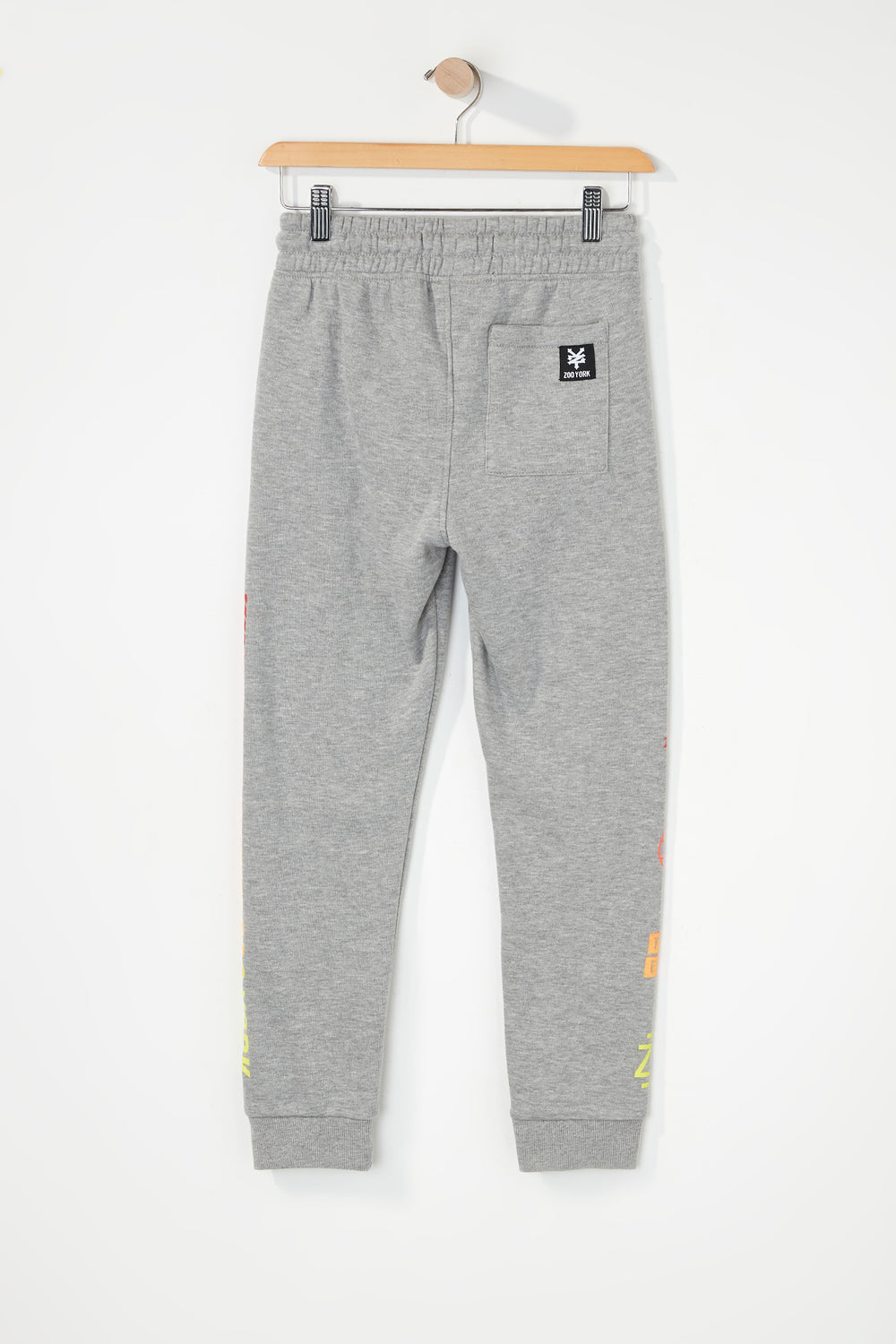 Zoo York Boys Gradient Logo Jogger Heather Grey
