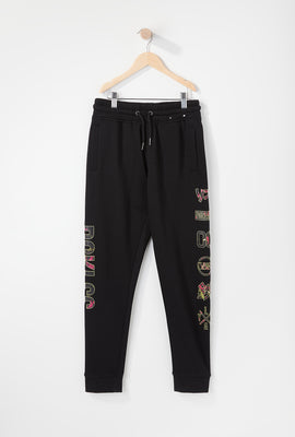 Young & Reckless Boys Electric Floral Jogger