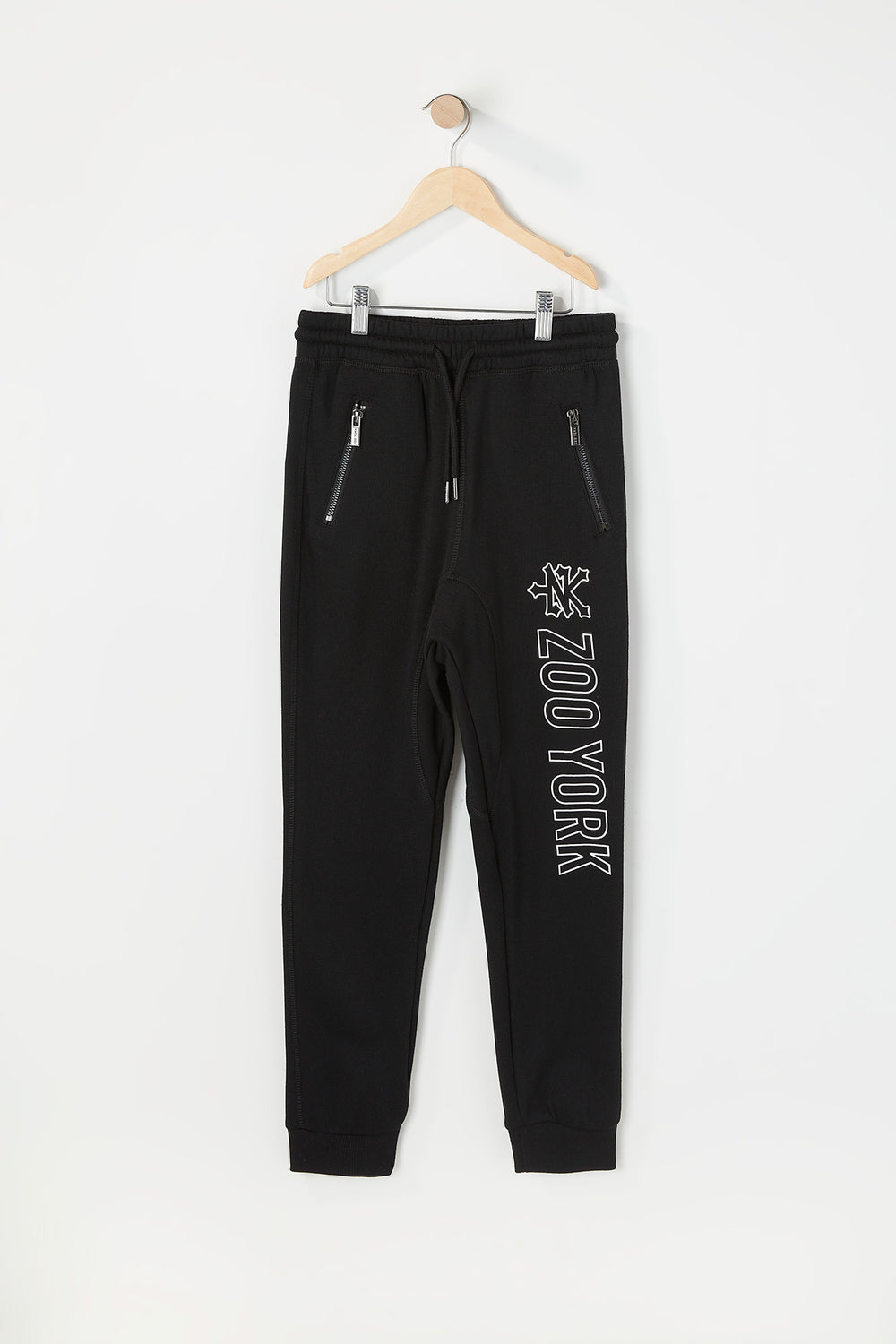 Zoo York Youth Zip Pocket Jogger Black