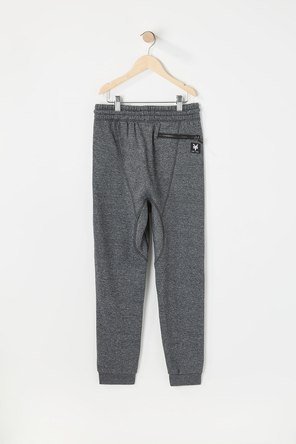 Jogger Logo Zoo York Junior Gris Noir