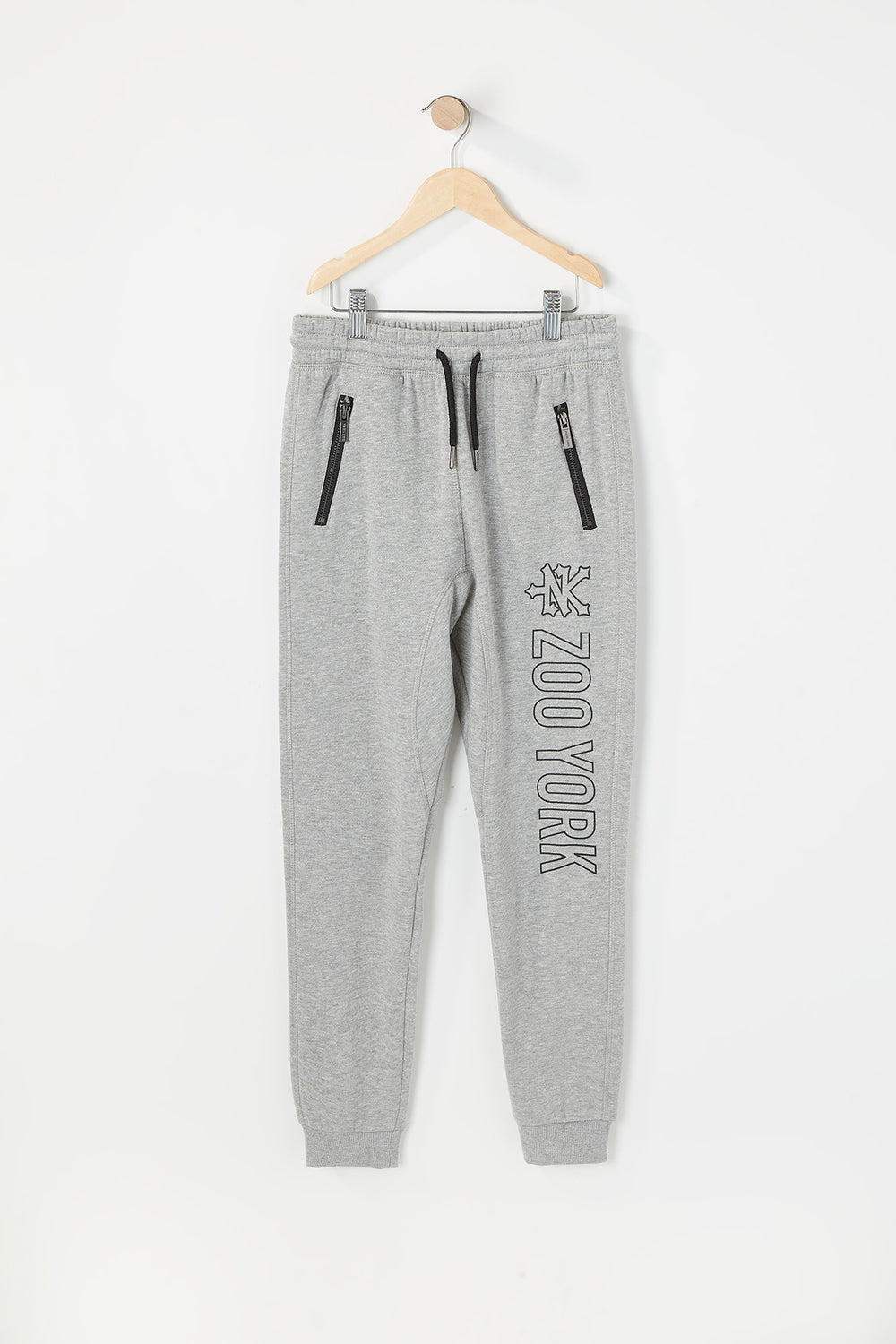 Zoo York Youth Zip Pocket Jogger Heather Grey